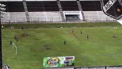 ABC descumpre decreto e faz treino no Frasqueirão
