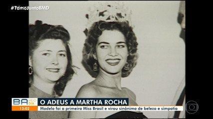 Primeira Miss Brasil, Martha Rocha Martha Rocha morre aos 87 anos, no Rio de Janeiro