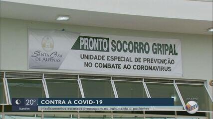 Falta de sedativos para pacientes graves de Covid-19 liga alerta em hospitais no Sul de MG