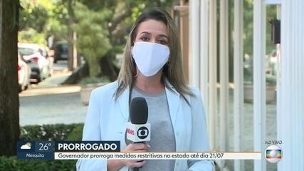 Medidas restritivas contra a Covid-19 no RJ são prorrogadas até 21 de julho
