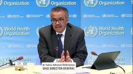 Diretor-geral da OMS deseja uma rápida recuperação a Bolsonaro