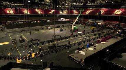 Veja imagens da preparação das arenas para a retomada da temporada da NBA