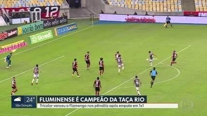 Fluminense é campeão da Taça Rio