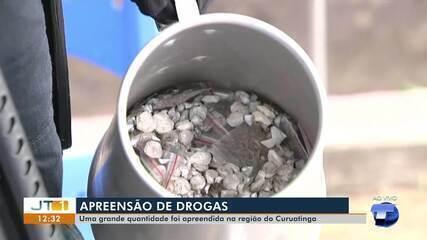 Grande quantidade de drogas é apreendida na região do Curuatinga, em Santarém