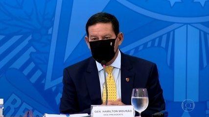 Mourão participa de reunião com investidores que criticaram política ambiental brasileira