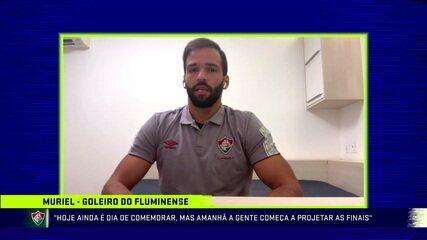 Muriel analisa vitória, fala sobre defesa do título e enaltece campanha do Fluminense na Taça Rio
