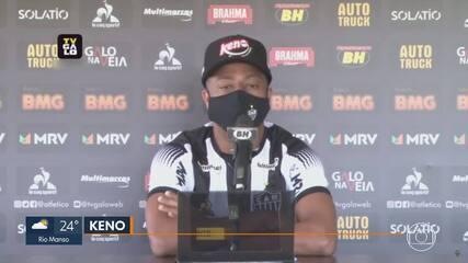 Keno é oficialmente apresentado pelo Atlético-MG, e Alan Franco desembarca em BH