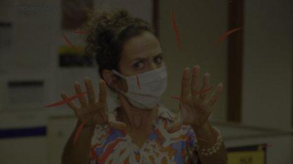 Maria brinca sobre as mudanças de comportamento após o confinamento