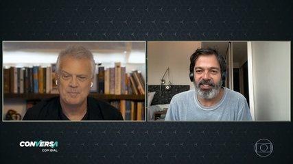 Bruno Mazzeo fala sobre desafios para produzir o Diário de um Confinado