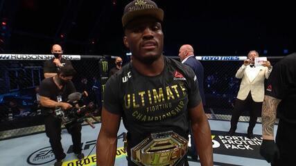 Melhores momentos de Kamaru Usman x Jorge Masvidal no UFC 251