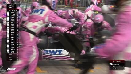 GP da Estíria: Bottas faz o pit stop em Spielberg