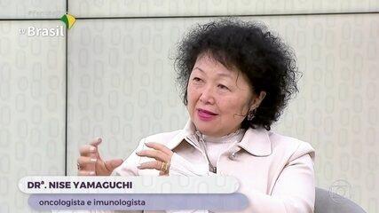 Nise Yamaguchi pede desculpas por declaração em que comparava coronavírus com nazismo