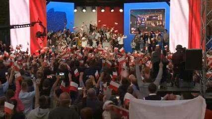 Eleições na Polônia: presidente conservador é reeleito em votação apertada