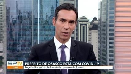Prefeito de Osasco, Rogério Lins, está com Covid-19