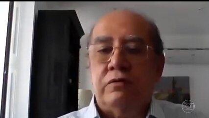 Gilmar Mendes diz que não fez crítica às Forças Armadas, mas ao enfrentamento à pandemia