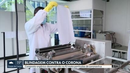 Pesquisadores do Senai desenvolvem composto orgânico contra o coronavírus