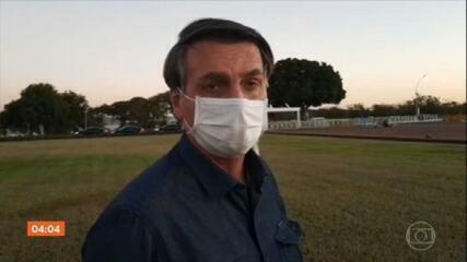 Bolsonaro informa em rede social que novo exame para a Covid-19 deu resultado positivo