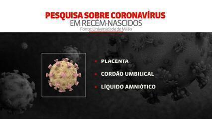 Bebê de 45 dias tem anticorpos para coronavírus
