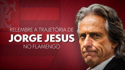 Relembre a trajetória de Jorge Jesus no Flamengo