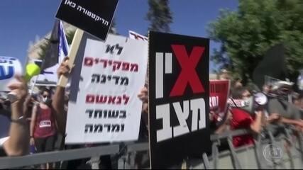 Israel dá marcha ré na reabertura da economia devido ao aumento de casos de Covid