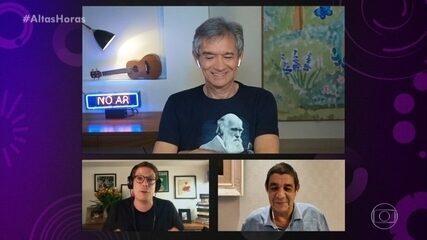 Fabio Porchat realiza sonho no quadro 'Nunca te vi, sempre te amei'