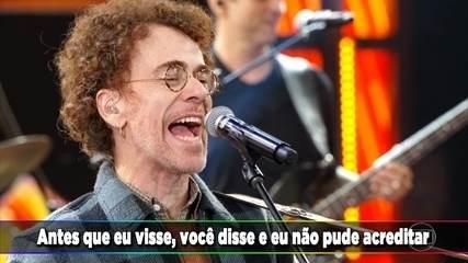 Nando Reis canta a música 'Segundo Sol'