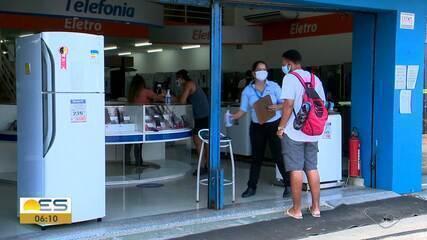 Comércio reabre em Vitória, Vila Velha e Serra