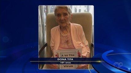 Com 101 anos, moradora de Jundiaí vence a Covid-19