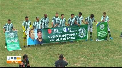 Nacional de Patos 0 x 0 Treze, pela rodada #9 do Campeonato Paraibano