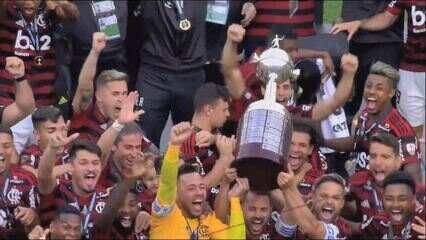Melhores momentos: Flamengo 2 x 1 River Plate pela final da Libertadores 2019