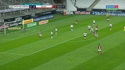 Melhores momentos de Inter de Limeira 2 X 1 Oeste, pela 11ª rodada do Campeonato Paulista