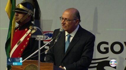 Geraldo Alckmin é denunciado por três crimes
