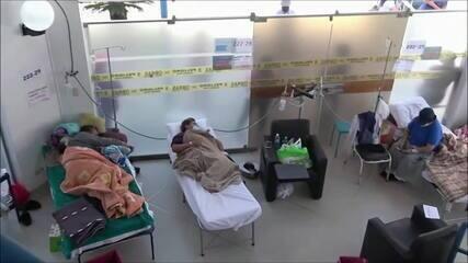 Peru enfrenta risco de colapso do sistema de saúde