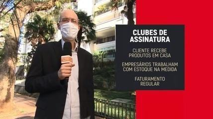 Faturamento de clubes de assinatura sobe durante pandemia