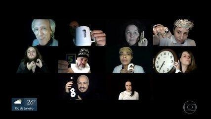 Peça virtual em que o público vota e decide o final do espetáculo
