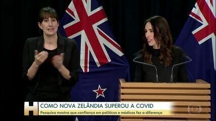 Pesquisa indica motivos do sucesso da Nova Zelândia no controle da pandemia