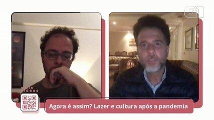 """""""As artes seguraram a onda de muita gente"""", diz Felipe Sima"""