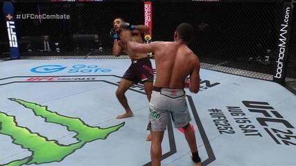 Melhores Momentos Francisco Massaranduba x Jai Herbert no UFC Whittaker x Till
