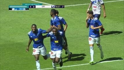 Melhores momentos: Cruzeiro 3 x 0 URT, pela 10ª rodada do Campeonato Mineiro