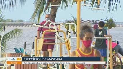 Uso de máscaras não prejudicam atividades físicas e protegem em tempos de pandemia