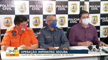 Mais de 100 pessoas são conduzidas à delegacia em mega operação policial em Imperatriz
