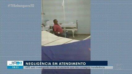 MPE investiga morte de idoso com Covid-19 que não conseguiu transferência