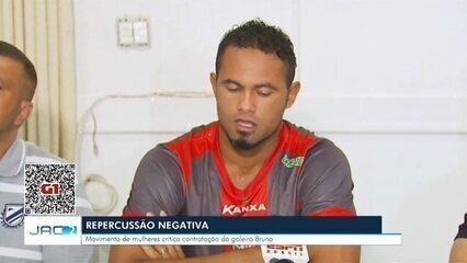 Rio Branco anuncia contratação do goleiro Bruno e divide opiniões