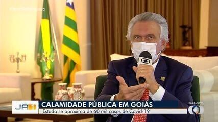 Governo federal reconhece estado de calamidade pública em Goiás devido à Covid-19