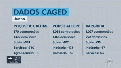 Cidades do Sul de Minas voltam a registrar demissões no Caged de junho