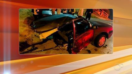 Polícia vai ouvir motorista envolvido em acidente que deixou carro partido ao meio