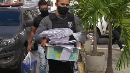 Polícia de Pernambuco prende três pessoas em operação que investiga 'rachadinha' em Câmara