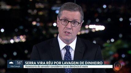 José Serra, do PSDB, vira réu em processo por lavagem de dinheiro