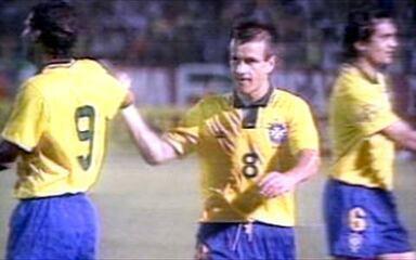 Em 1993, Brasil atropela a Bolívia pelas Eliminatórias da Copa