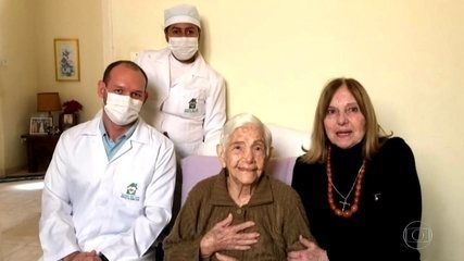 Irmãs de 96 e 100 anos vencem a batalha contra a Covid-19